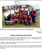 TAL MTCL ETCL Cricket 2013 in Idlebrain